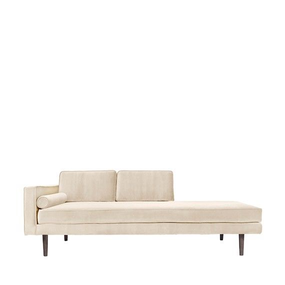Wind chaiselong sofa, rainy day fra Broste